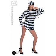 Party-kostuum Vrouwelijke gevangene