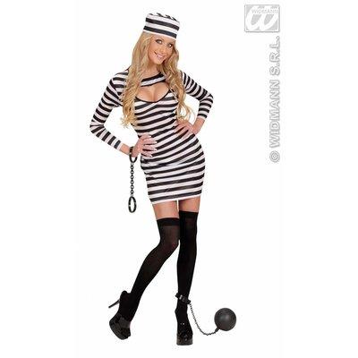 Party-kostuum: Sexy EBI gevangene