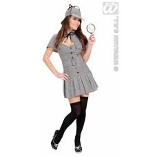 Vrijgezellenparty-kostuum: Privé Detective (dame)