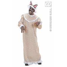 Vrijgezellen-feest outfit: Boze Wolf/grootmoeder