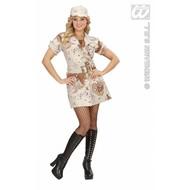 Vrijgezellen-feest-kleding: Desert Storm-girl