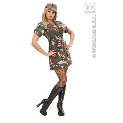 Feestkleding: American Army-girl