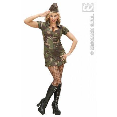 Sexy legermeisje jurkje