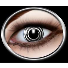 Contactlenzen specials: Zwart spiraal