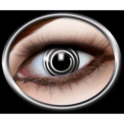 Contactlenzen: Zwart spiraal