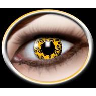 Feest-accessoires: Contactlens Leopard