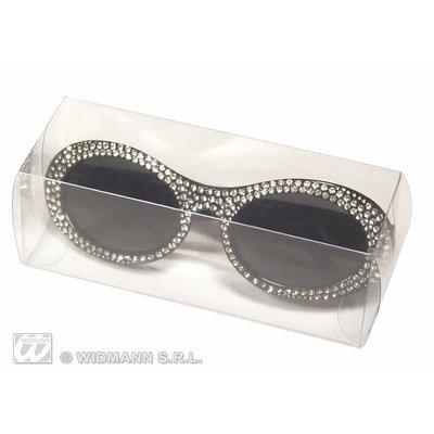 Luxe Swarovski feestbrillen