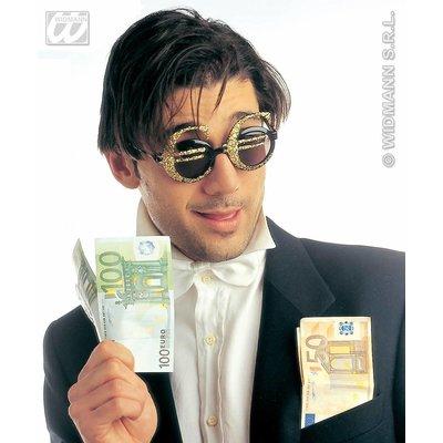 Euroteken bril als feestbril
