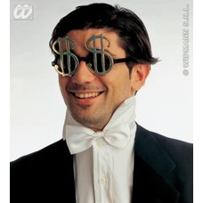 Feest toebehoren bril met Dollar teken