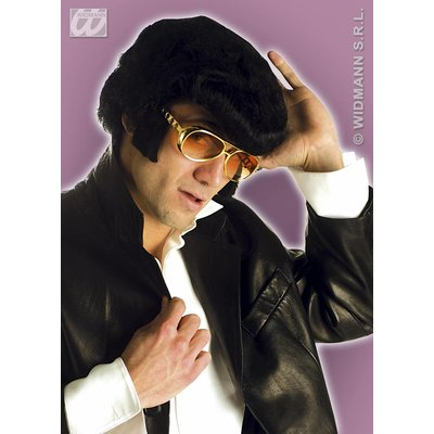 Feestbril Elvis met bakkebaarden