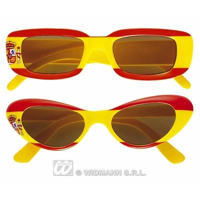 Spaanse vlag brillen