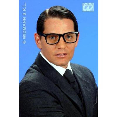 Zwarte mode feestbrillen