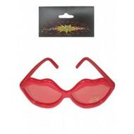 Feestaccessoires: Lippen bril