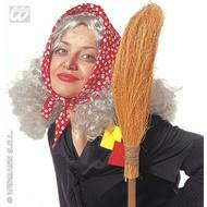 Party-kleding: Omapruik met hoofddoek