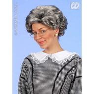 Party-kleding: Pruik, Agatha
