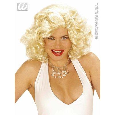 Blonde pruik, moviestar