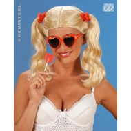 Party-kleding: Pruik Lolita
