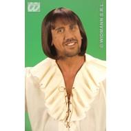 Party-kleding: Pruik, middeleeuwse man