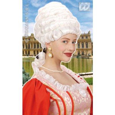 Pruik queen Elizabeth