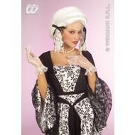 Party-kleding Pruik, koloniaalse dame