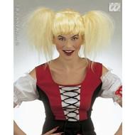 Party-kleding: Pruik, Heidi