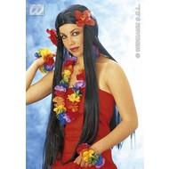 Party-kleding: Pruik, Aloha