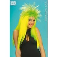 Party-accessoires Pruik, Punkadelic neon