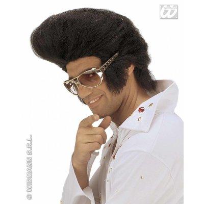 Jumbo Elvis pruik voor party's