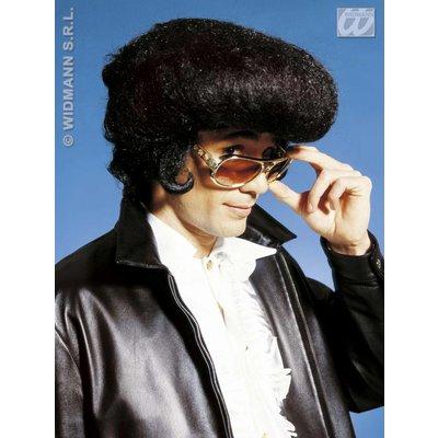 Fonzy Elvis pruik voor Rock & Roll