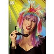 Party-accessoires: Pruik, rock star