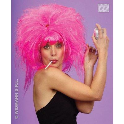 Roze Pretty Woman pruik