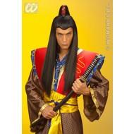 Party-accessoires Pruik, samurai