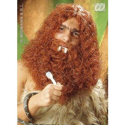 Holbewoners pruik met baard