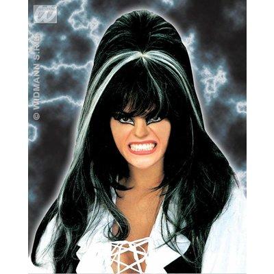 Hekenpruik Elvira tweekleurig