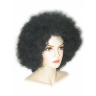 Carnaval- & feest accessoires: Trendy Afro Pruik
