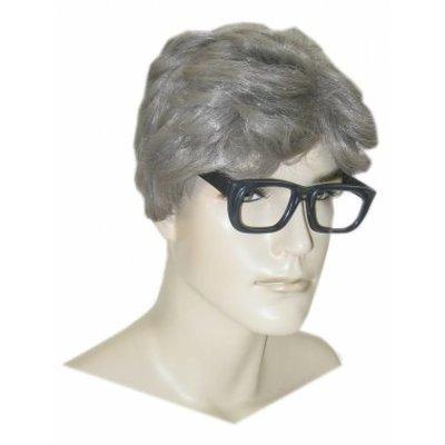 Herenpruik met bril