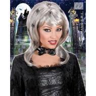 Halloween: Spider Lady Pruik