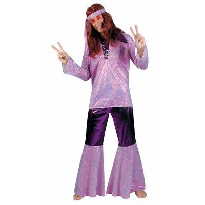 Party-kleding: Hippy-pruiken