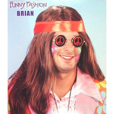 Feestkleding: Pruik Brian