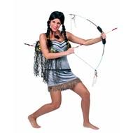 Feest-accessoires: Indianenpruik meisje