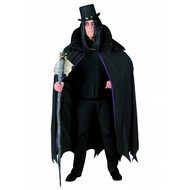 feestaccessoires: Draculapruik