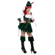 Party-kleding: Robin Hoods wife