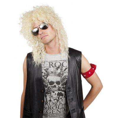 Rocker Ian pruik