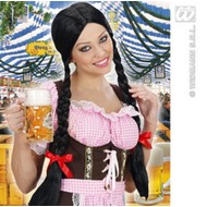 Tiroler feestpruik: Greetje