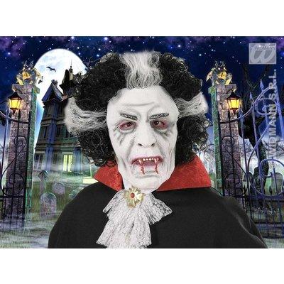 Maskers: Vampier met pruik