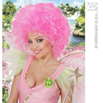 Roze fee pruiken