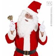 Kerstman pruik met baard