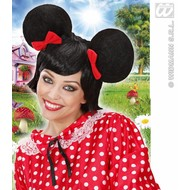 Feestaccessoires: Mickey-mouse-pruik