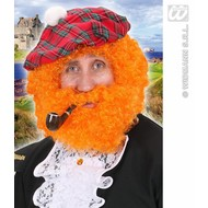Feestaccessoires: Krulpruik Schotse hooglander