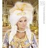 Pruik Fantasy Queen met tiara